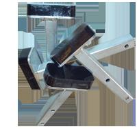 54a-bonded-steel-foot-brake-pad