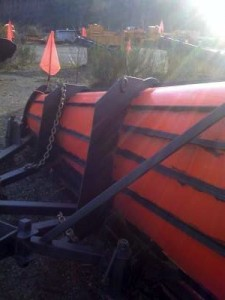 Plow Blade with UH Liner 1-400